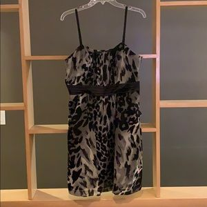 Leopard party dress...with pockets!!
